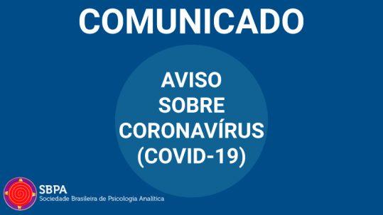 aviso sobre coronavírus covid 19