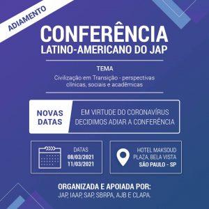 xv conferência JAP